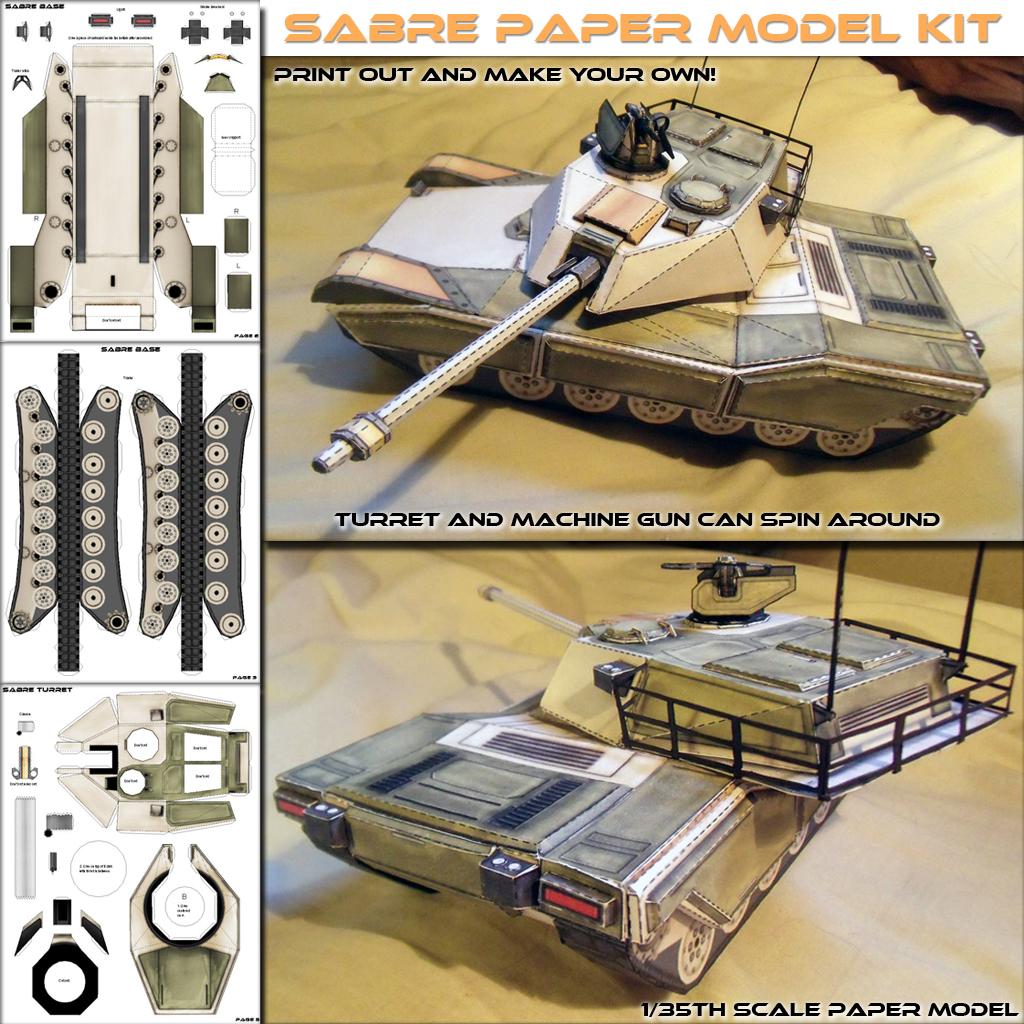 Grizzlor Paper Model V1.0